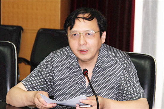 常务副院长穆荣平研究员发言